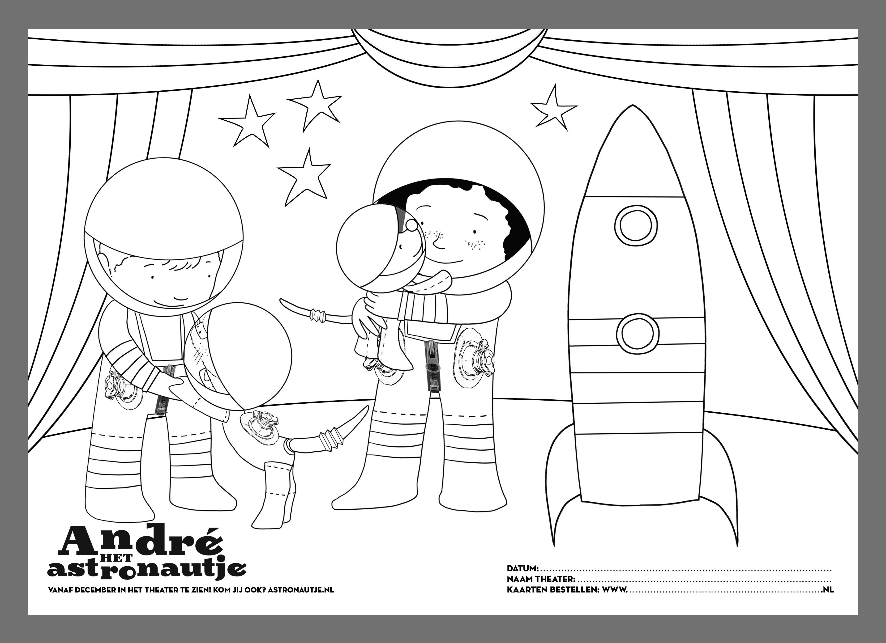 Theater Andre Het Astronautje Parktheater Eindhoven 12 Maart 2017