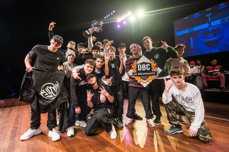 Deelnemers NK Breakdance, Hiphop Kingz & Holy Funk